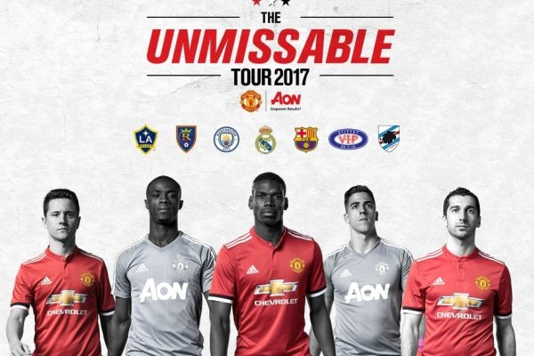 Manchester United Tour 2017